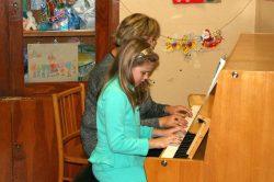 Sofia s pani učiteľkou